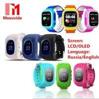 Mesuvida Q50 GPS Capretto di Sicurezza Smartwatch Smart Orologio Bambini SOS Chiamata Location Finder Locator Tracker Anti Perso Monitor Baby Watch