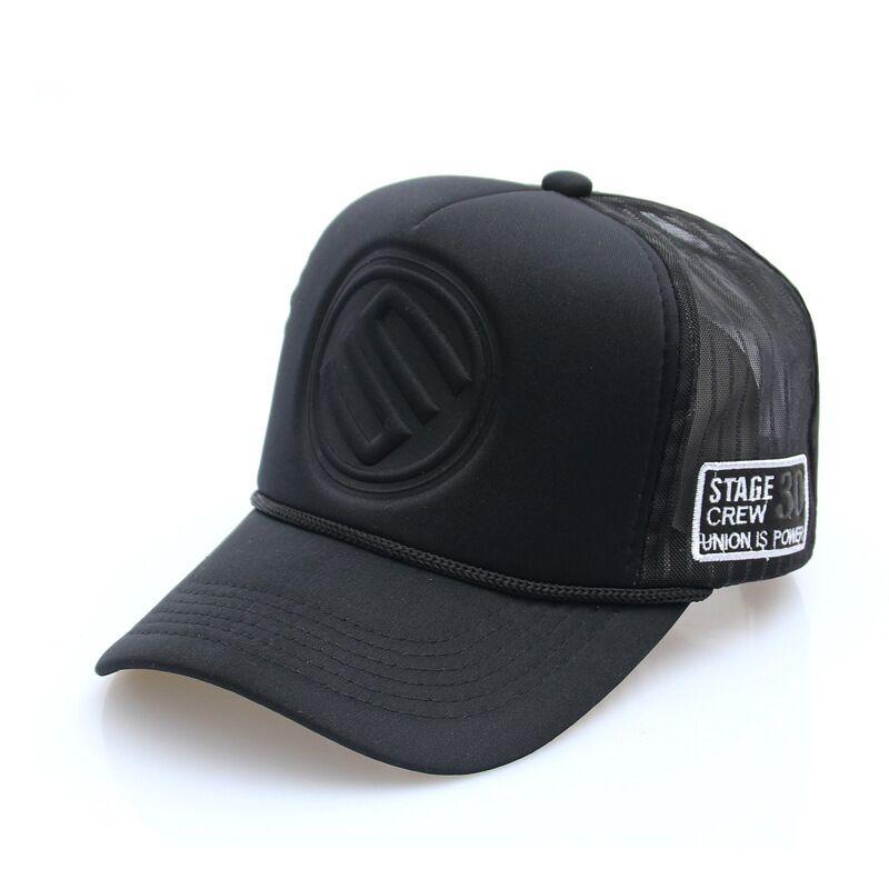 black trucker hat QQ20170809205947