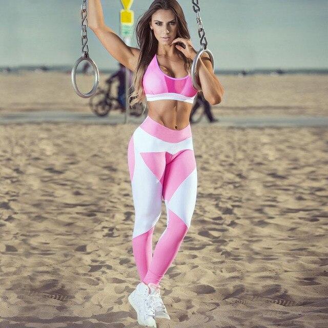 Новый Дизайн Спортивных Леггинсы Плюс Размер Эластичность Брюки Для Похудения Фитнес Для Женщин Бодибилдинг Леггинсы Аэробика Упражнения