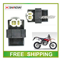 XY250GY SHINERAY X2 X2X 250CC dirt bike 4+2pins cdi box MOTORCYCLE accessories free shipping