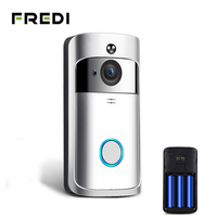 FREDI Wireless WiFi Video Doorbell Camera IP 720P Ring Door Bell Video Intercom Two Way Audio APP Control Infrared Night Vision