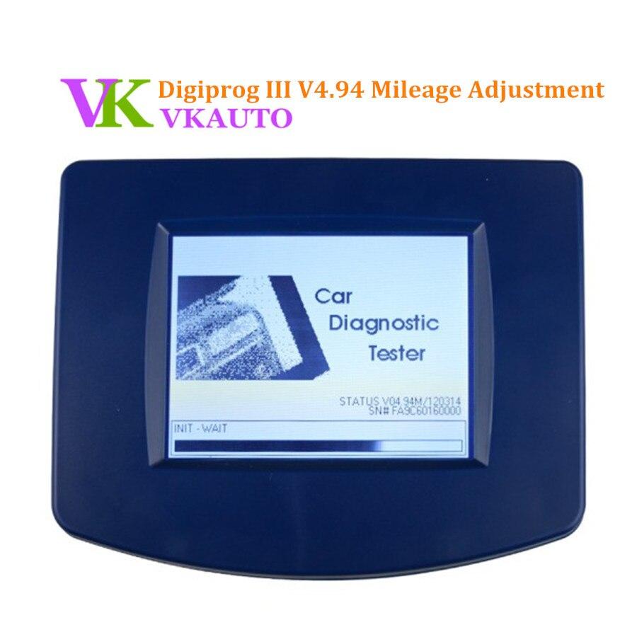 Meilleur prix V4.94 Digiprog III Digiprog 3 outil de Correction d'odomètre paquet complet Multi langues expédition rapide