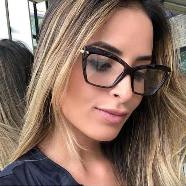 fashion glasses clear spectacle frames for women eyeglass frames optical  nerd myopia transparent female grade glasses hispter 0f1c23f473