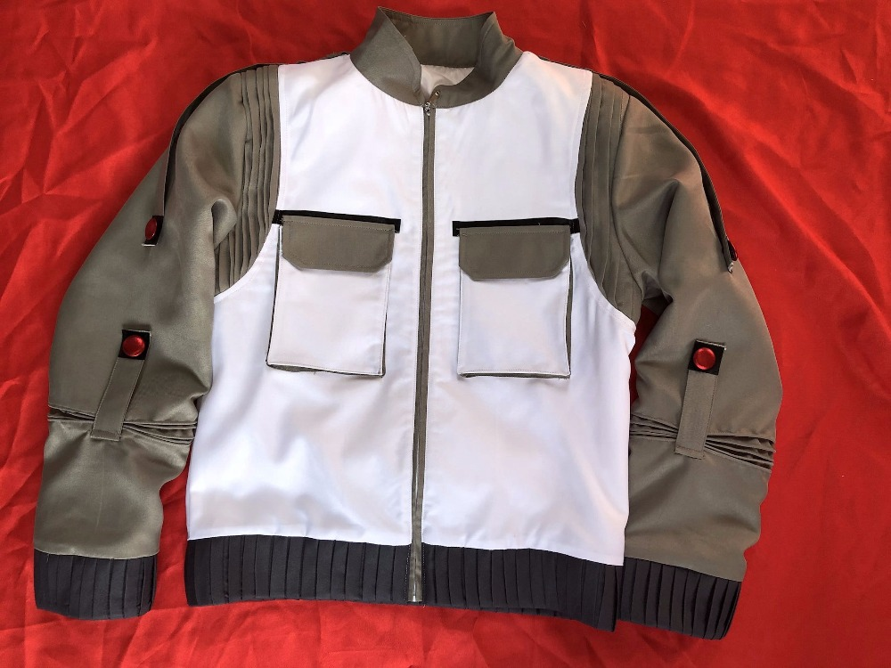 Back To Future Marty Mcfly Jacket Cosplay Costumes Adult Coat