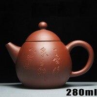 New Arrival Teapot Yixing Teapots 280ml Clay Ceramic Chinese Handmade Set Zisha Sets Porcelain Kettle High grade