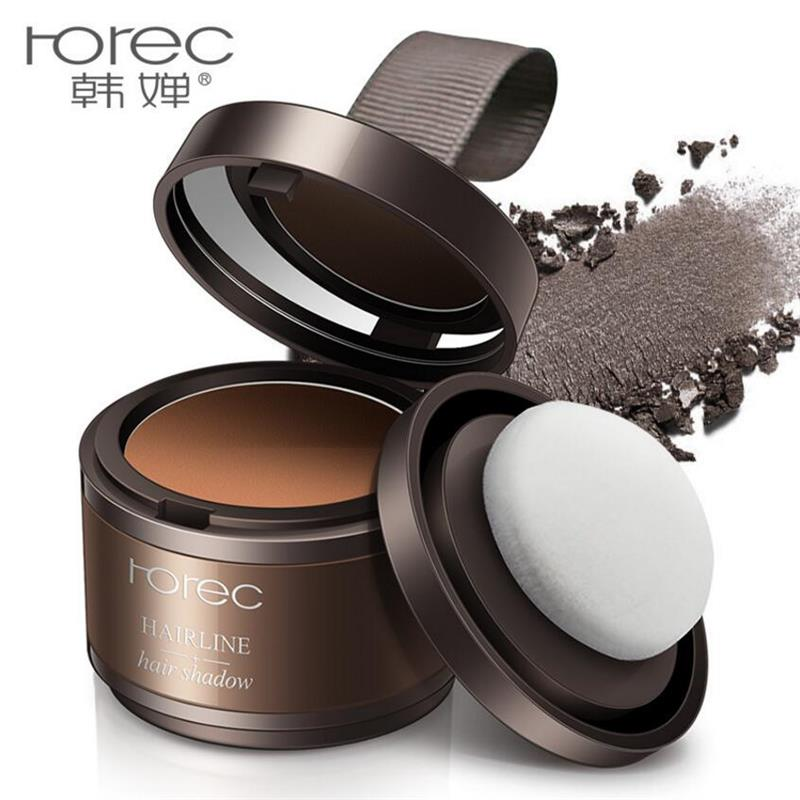 Horec 2 Color Hair Shadow Powder Modified Sparse Hair Makeup Concealer Root Cover Up Hair Fluffy Hair Line Magical