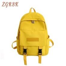 Women School Backpack Bagpack For Teenagers Girls 2019 High School Backpacks Bag Female Students Nylon Back Pack Bagpsck