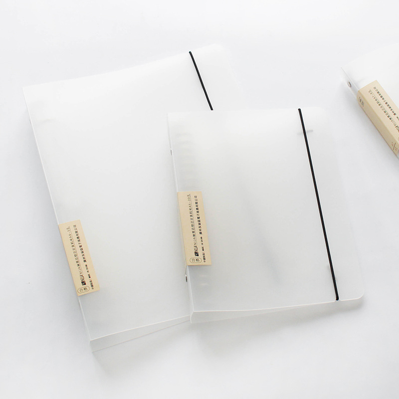 A Variety Of Matte Binder Loose Strap Loose Leaf File