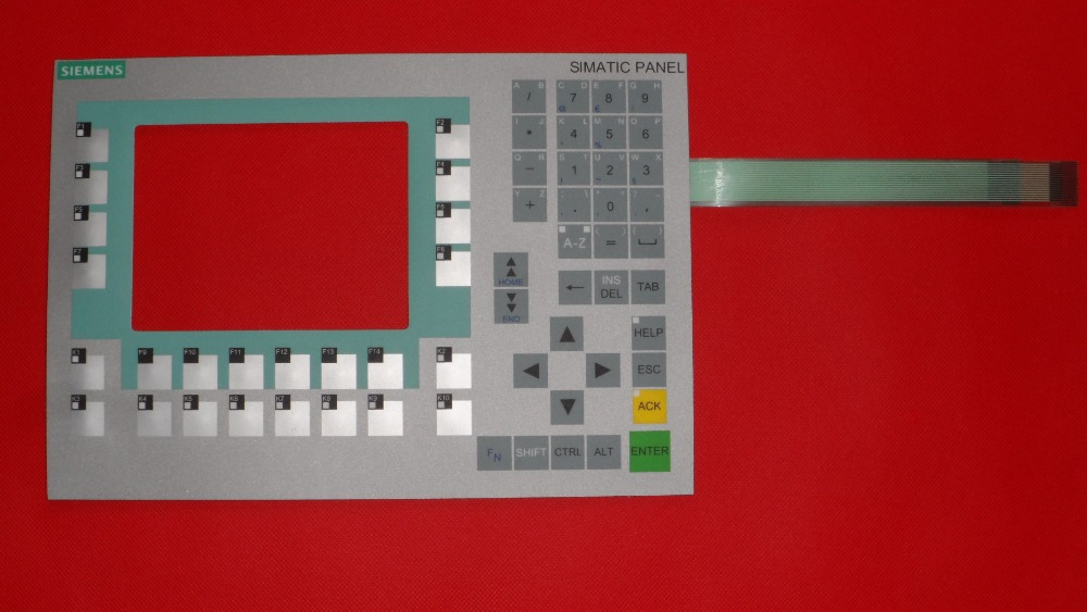 6AV6643-0BA01-1AX0 6AV6 643-0BA01-1AX0 OP277-6 Compatible Keypad Membrane for Siemens keypad replacement  цены