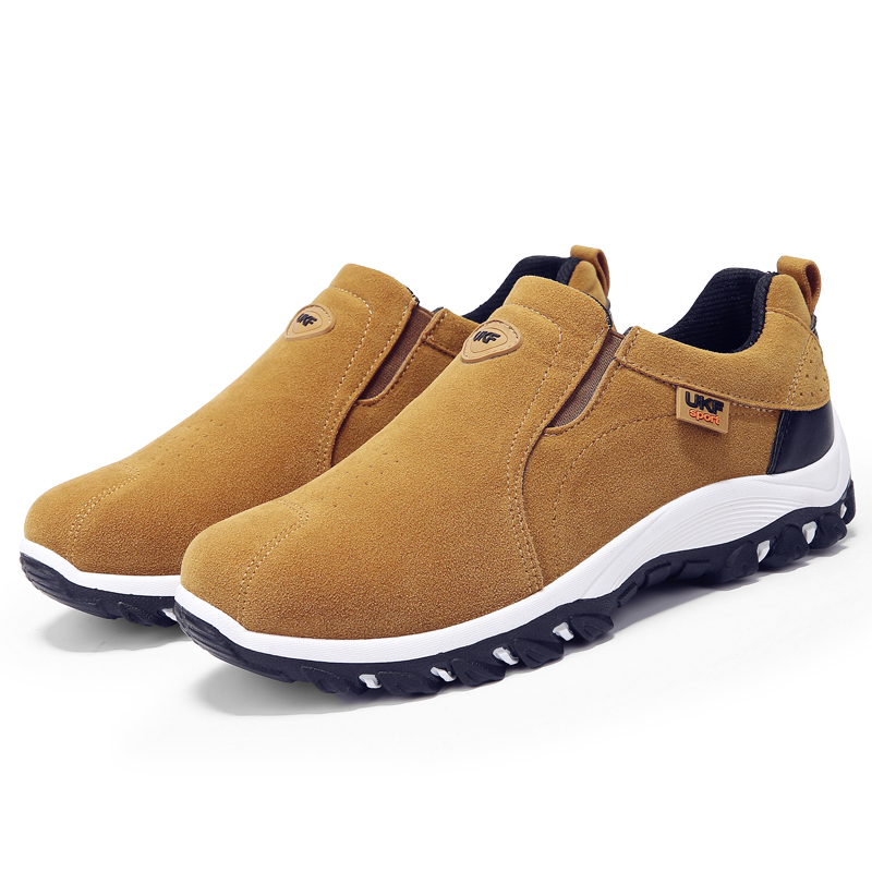HTB1WrCravjsK1Rjy1Xaq6zispXah VESONAL Spring Summer Slip-On Out door Loafers Sneakers For Men Shoes Breathable Suede Male Footwear Walking comfortable