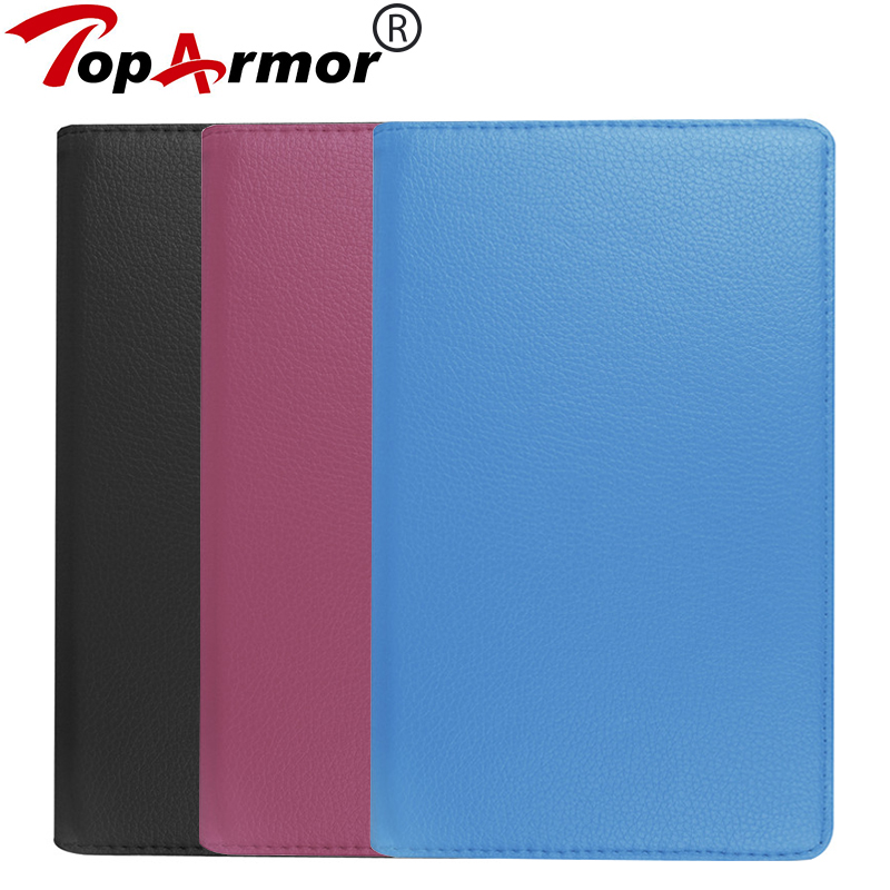 TopArmor For Huawei MediaPad M3 8.4 Case Cover 360 Rotating PU Leather Stand Case MediaPad M3 8.4 inch Tablet case