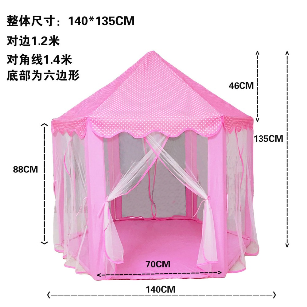 Play Tent for Kids Baby Ball Pool Tipi Tent Children Play House Boy Girl Princess Castle Indoor Outdoor Chidren Gifts beach tent (15)