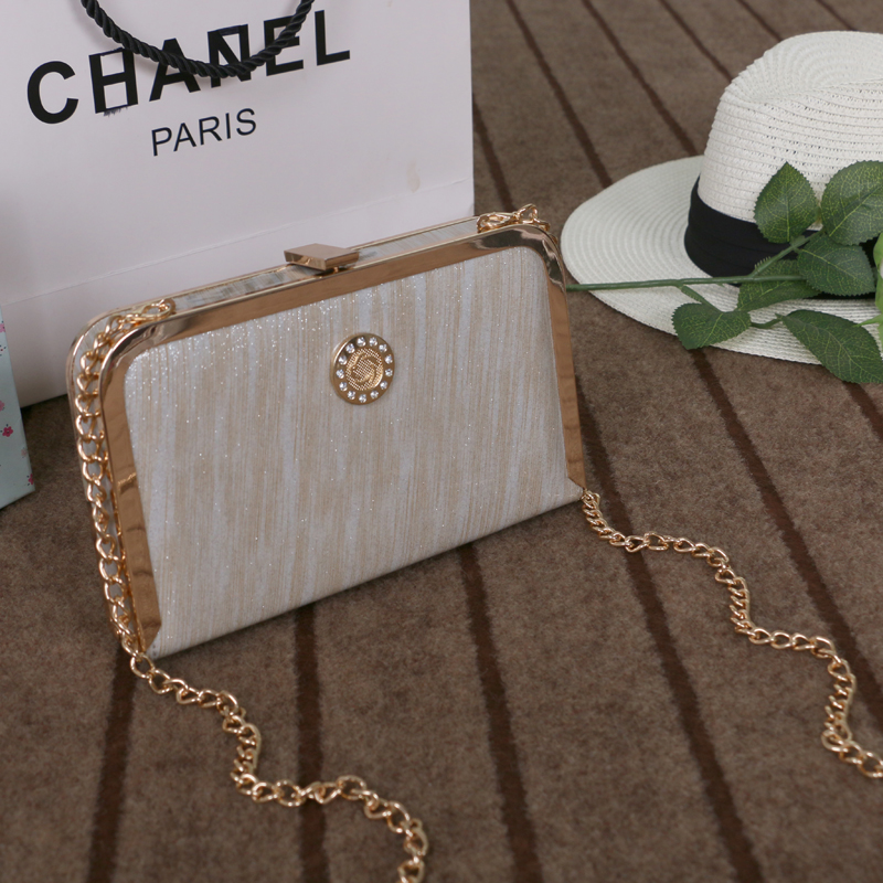 Brand Designer Original Box Evening Bags Women Casual Clutches Lady Party Purse Hand Bag Day Clutch with Chain Messenger 2015 new arrival acrylic bow clutch bag day storage box clutch bags women handbag brand designer transparent chain women wallets