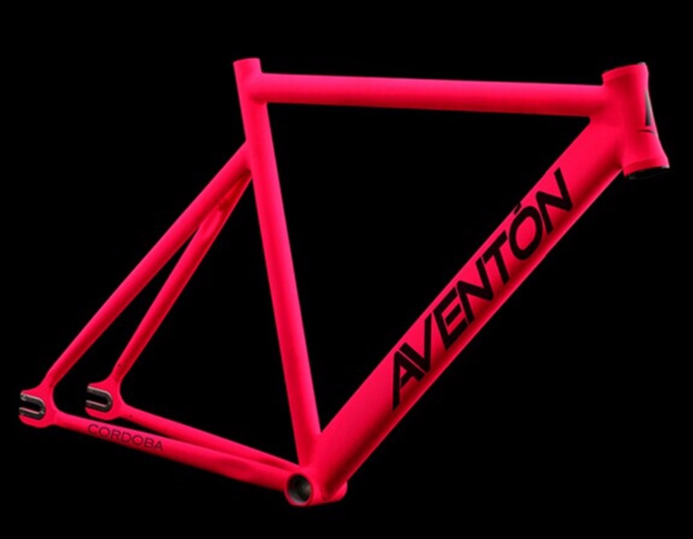 aliexpresscom buy 2015 new road bike frame fixed gear bike aluminum alloy aventon muscle frame road bicycle frame fork 700c 52cm 54cm multicolour from