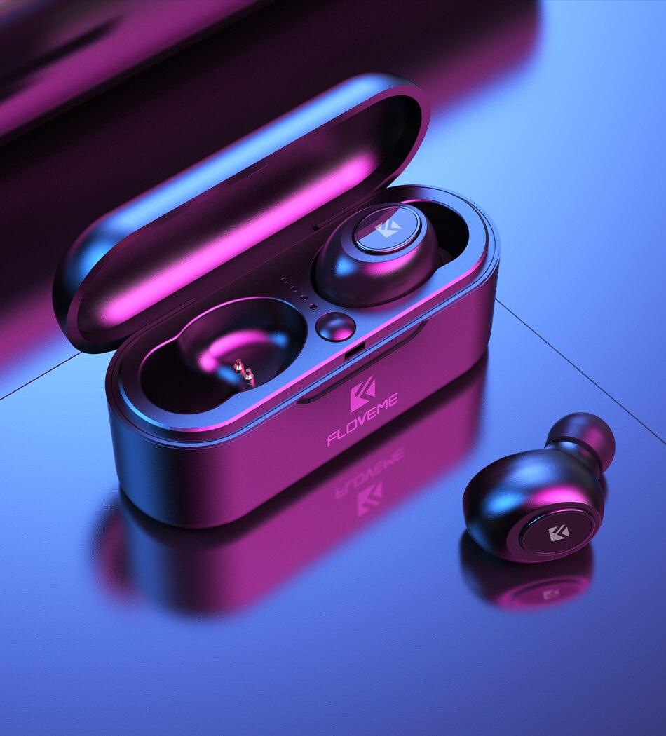 Casque Bluetooth 5.0 stéréo sans fil écouteur