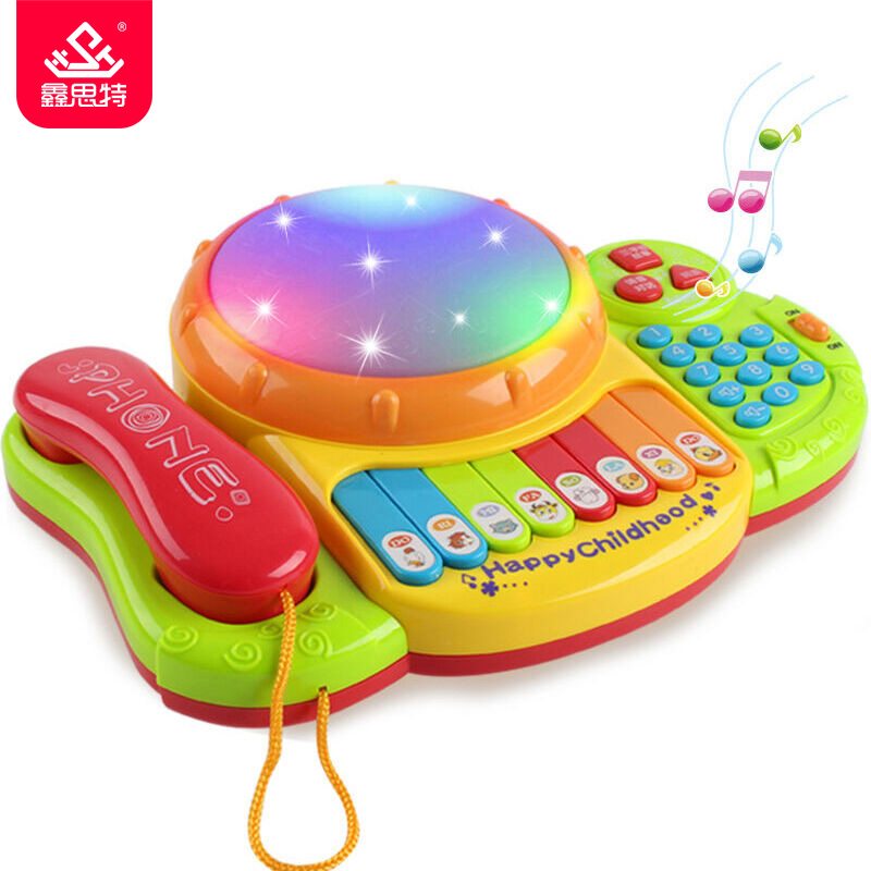 Baby Music Drum Toys Learning Development Musical Keyboard