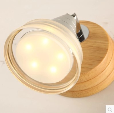 Mood Modern LED Wall Lamp With 5 Lights For Home Indoor Lighting LED Wall Sconce Lamparas De Pared modern simple led wall lamp indoor lighting bedroom wall sconce with globe glass shade arandela lamparas de pared