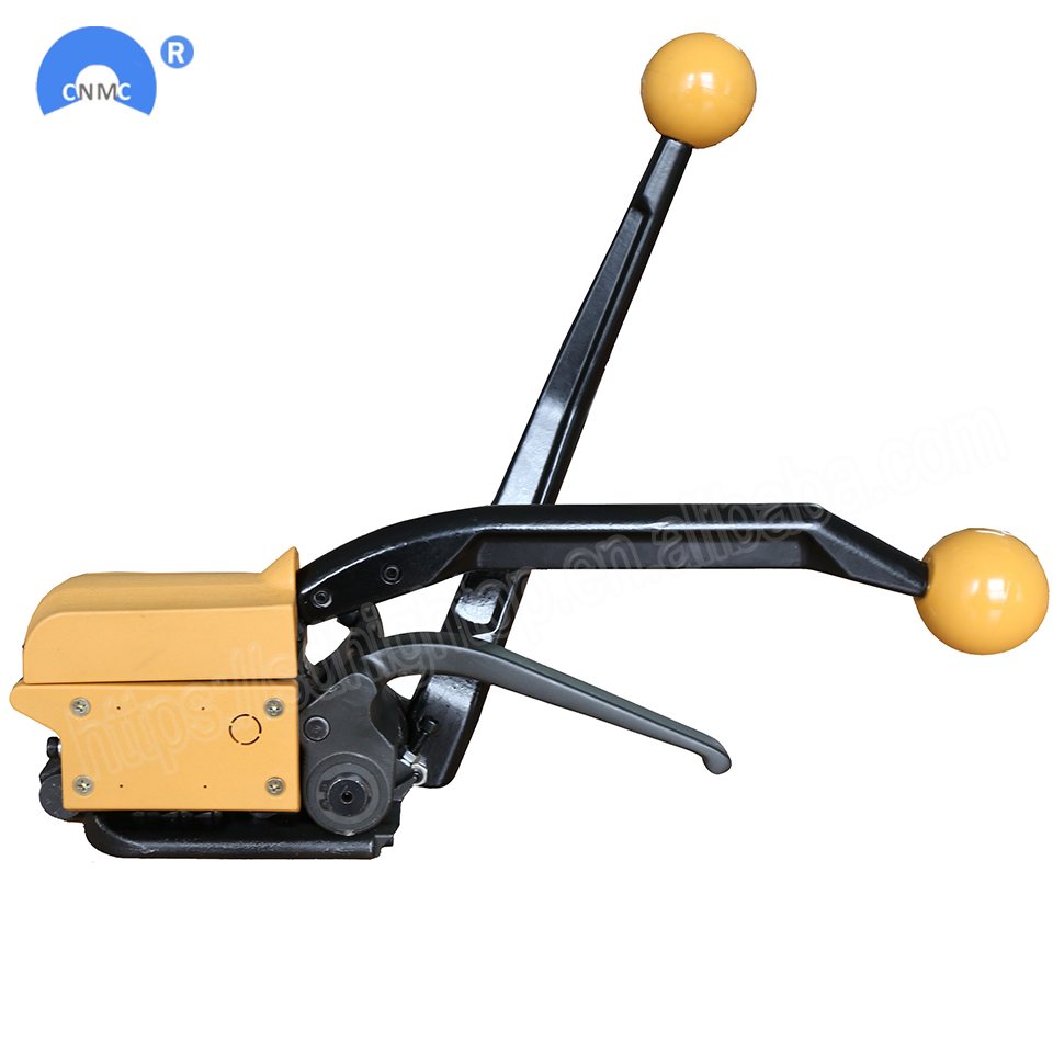 Image 3 - Manual steel strapping tool A333 buckle free Sealless Handheld steel strapping machine for 13/16/19 mm steel strip strapWrapping Machines   -