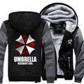 Dropshipping USA Movie Game Resident Evil Popular Unisex coslay jacket Custom Made Big Size Thicken Hoodie Sweatshirt Coat
