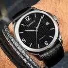 Parnis Automatic Watch Minimalist Watch Men Wrist Watch 2018 Miyota Sapphire Crystal Mechanical Watches relogio masculino Gift