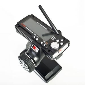 Image 4 - Flysky FS GT3B 2.4G 3CH Radio Model Afstandsbediening Lcd Zender En Ontvanger Voor Rc Auto Boot
