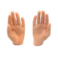 2pcs/Lot Synthetic Hand Tattoo Practice Skins Silicone Fake Hand for Both Apprentice & Experienced Tattooist