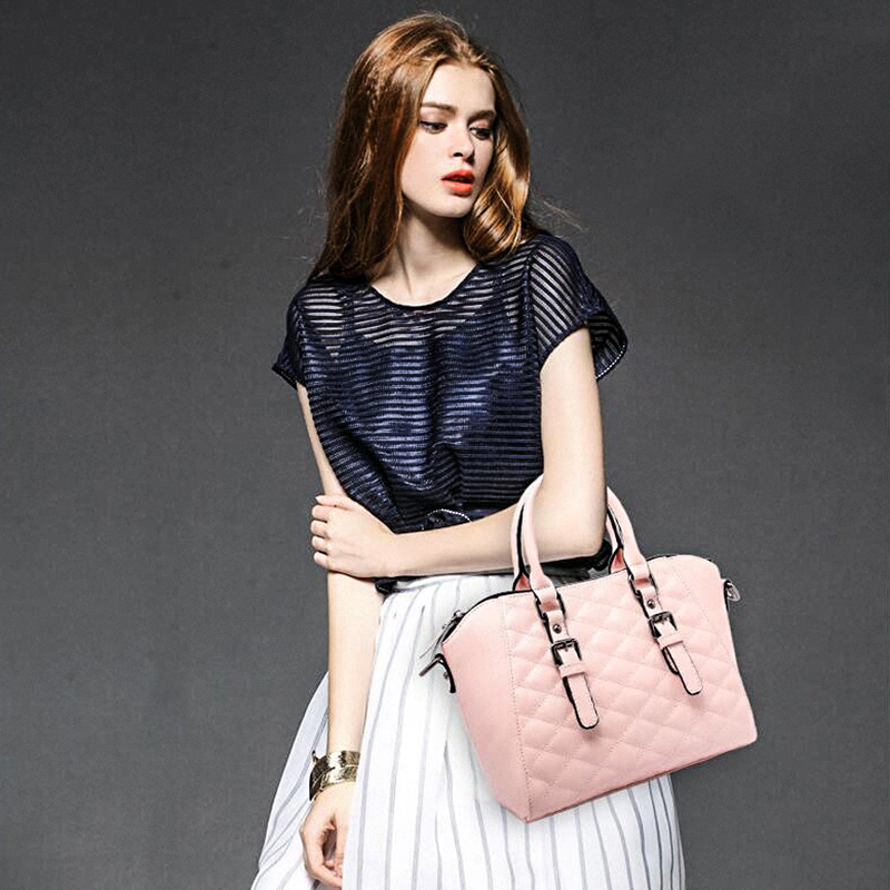 89f116e31081 Korean bags women handbags Quilted element shell bag lady shoulder bag tide  diagonal package fashion Classic bag wild-in Top-Handle Bags from Luggage    Bags ...