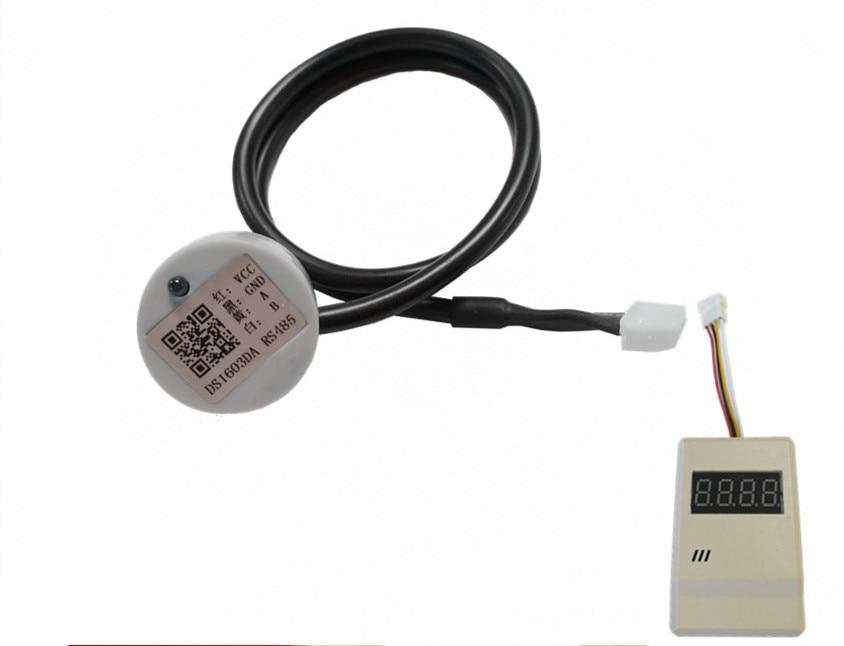 Sensor+display panel Ultrasonic liquid level sensor for over DN32 Water connection detect troubleshoot level measure control