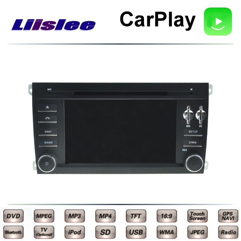 For Porsche Cayenne Turbo S GTS 9PA 2004~2010 LiisLee Car Multimedia TV DVD GPS Radio Carplay Original Style Navigation Navi