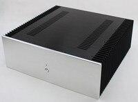 Wf1167 класса полной алюминиевый корпус/предусилитель случай/Мощность Усилители домашние коробки DIY 412*430*150 мм