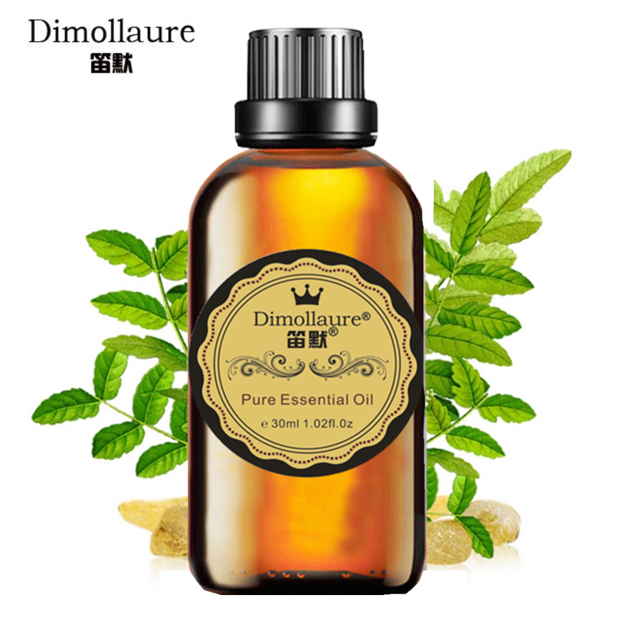 Dimollaure Frankincense essential oil 30ml skin care Anti aging Wrinkle Restore skin elasticity balance grease Remove odor