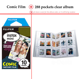 Image 5 - Fujifilm Instax מיני סרט קומיקס 10 גיליונות עבור Instax מיני 9 8 7 s 7c 70 90 25 מיידי Polariod מצלמה Smartphone מדפסת SP2 1