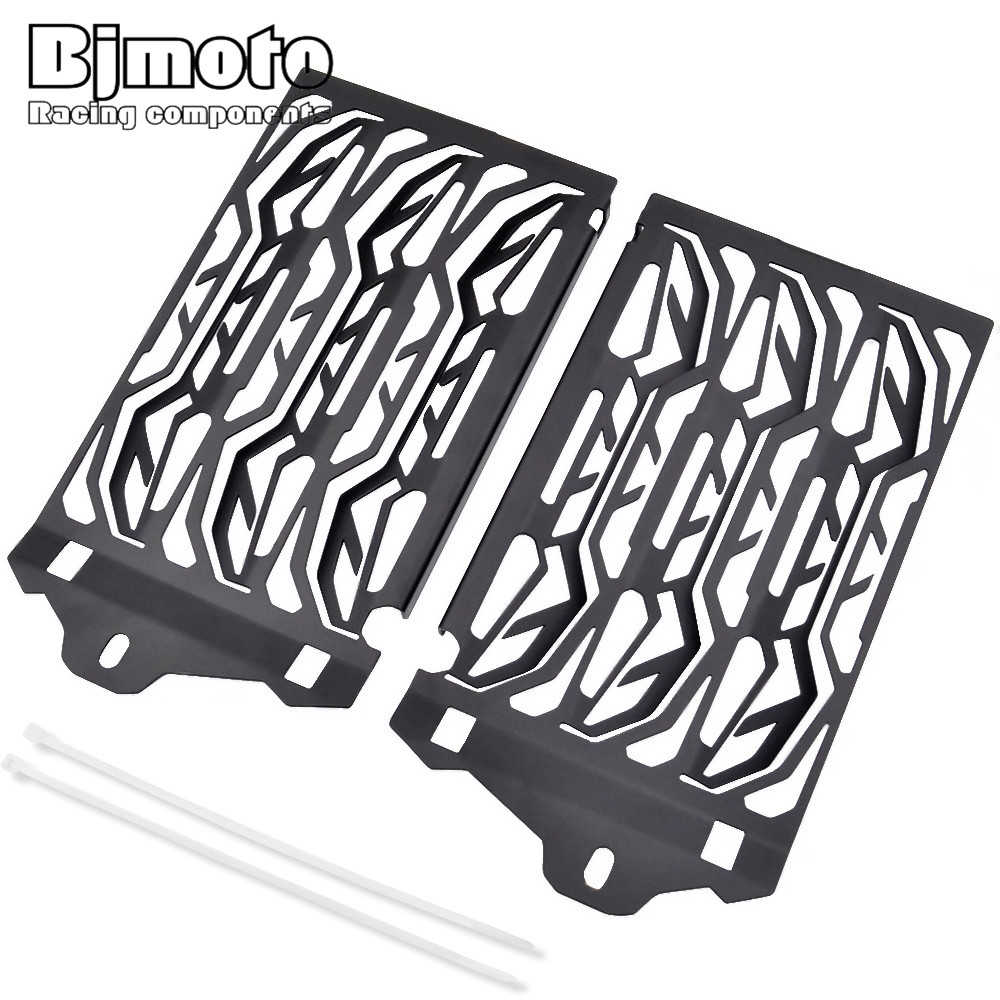 BJMOTO Motorcycles Radiator Grill Guard Cooler Cover For BMW R1200GS GSA ADV Adventure Water-Cooled 2013-2017 motorcycle radiator grill grille guard screen cover protector tank water black for bmw f800r 2009 2010 2011 2012 2013 2014