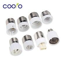 Ламповый конвертер E27 штекер для E12 E14 E40 B22 MR16 G4 G9 GU10 гнездо лампы Основание для лампочка внутреннего освещения Расширенный адаптер