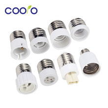 Bulb Converter E27 Male to E12 E14 E40 B22 MR16 G4 G9 GU10 Female Lamp Socket Bulb Base For Indoor Lighting Bulb Extend Adapter(China)