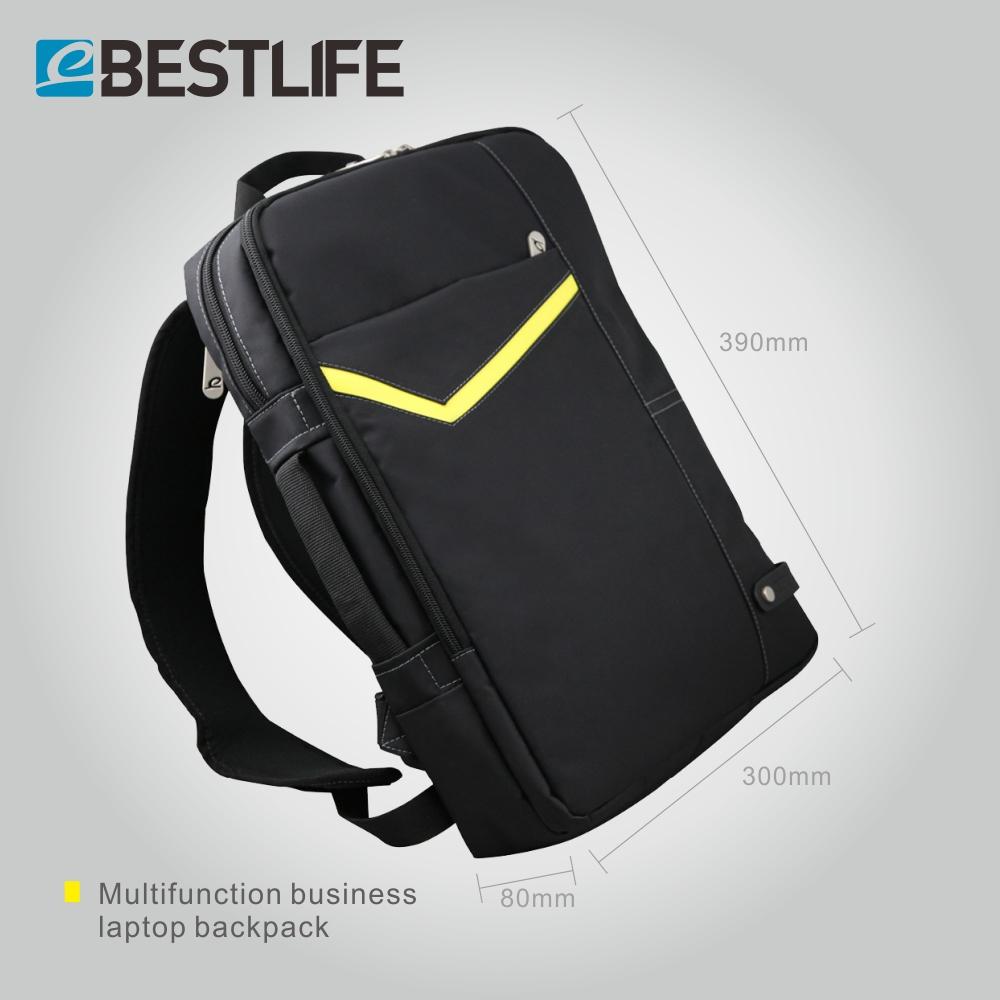 BESTLIFE Transform Backpack Shoulder Business Casual Crossbody Bag Nylon Black 3 Way Bags Laptop rucksack mochila masculina