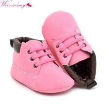 цены на Casual Baby Toddler Kid Boy Girl Ankle Boots Lace-Up Crib Shoes Non-slip Sneaker  в интернет-магазинах