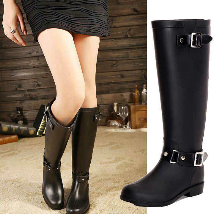 Online Shop High Reputation Fashion Rubber Women Hunte Rain Boot ...