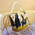 Мода сумка женщин кожа bolsa feminina сумки высокое качество лили личность сумка ведро женщины сумка