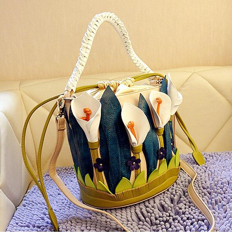 Feminina bolsa de hombro de la manera de cuero de las mujeres bolsos de diseño d