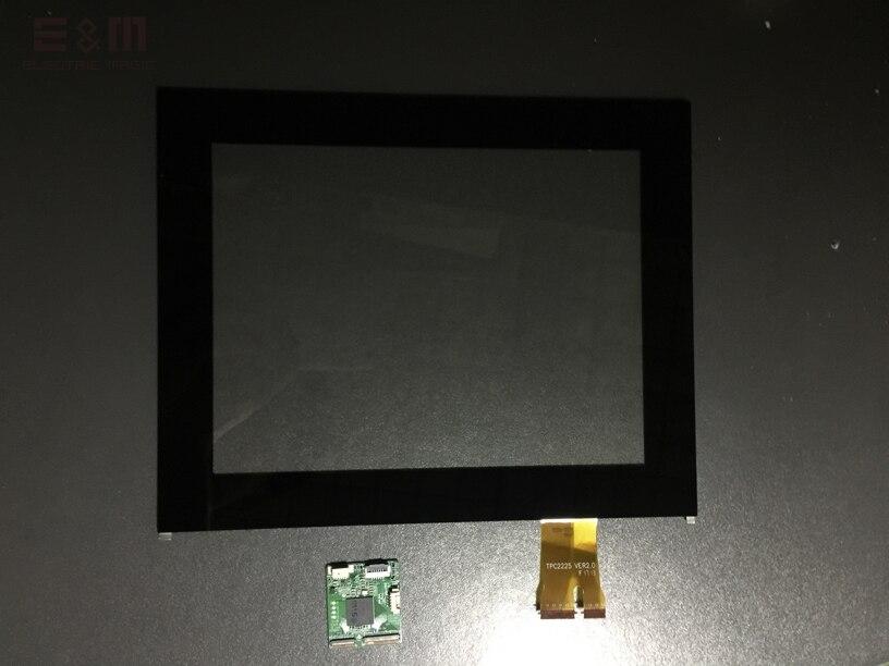E & M 9.7 pouces écran tactile capacitif bricolage USB & amp IIC Port 4:3 écran tactile
