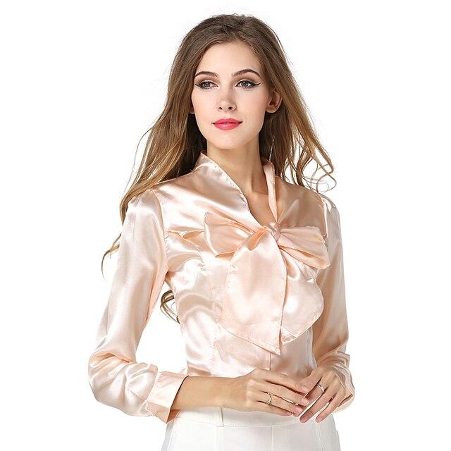 7110131de0 Moda Feminina Elegante Camisa Blusa Chiffon Marca Casual Blusas Femininas  Verão Estilo Plus Size Mulheres Tops