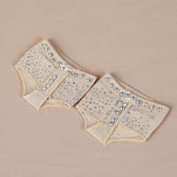 Professional Belly Lyric Dance Toe Practice Shoe Foot Thongs Half Sole Footundeez For Modern Dance Socks