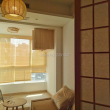 Bamboo curtain,  partition, balcony, living room, tea room, sun shading, sun shading window roller blinds for indoor decoration