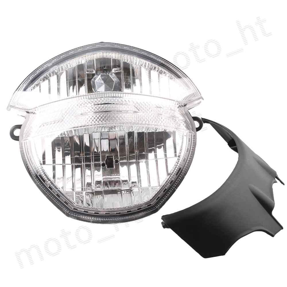 For Ducati Monster 659 696 795 796 M1000 Front Headlight Headlamp Motorcycle Spare Parts Assembly Clear motorcycle parts front