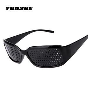 YOOSKE Black Pinhole Sunglasse