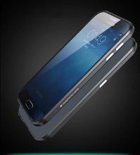 New Noble Luxury Bumper For Samung Galaxy S6 Aluminium Case For Samsung S6 SM G9200 Metal
