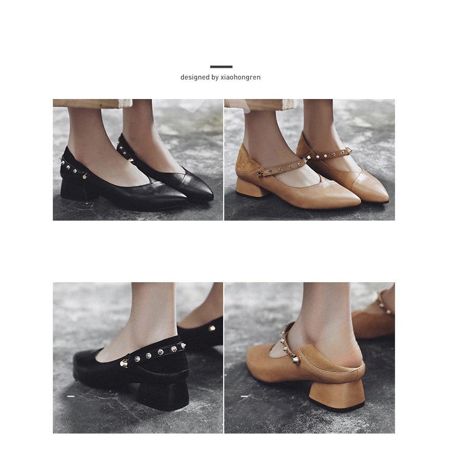 a833b015307 MYCORON-zapatos-de-marca-cl-sica-de-Mujer-Zapatos -casuales-de-punta-estrecha-negros-hechos-a.jpg