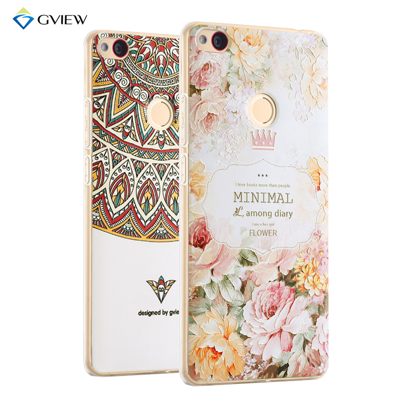 Super 3D Relief Printing Clear Soft TPU Case For Huawei Honor 8 lite P8 Lite 2017