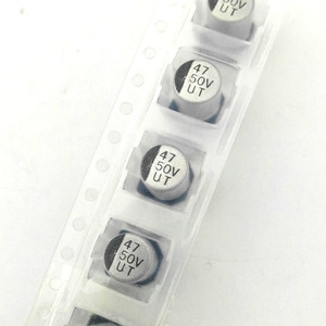 Image 3 - MCIGICM 1000pcs 47UF 50V 6.3mm*7.7mm SMD electrolytic capacitor